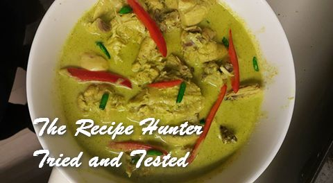 TRH Faaiza's Saucy Green Chicken