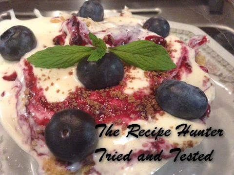 TRH Gail's Blueberry Cheesecake - No Bake