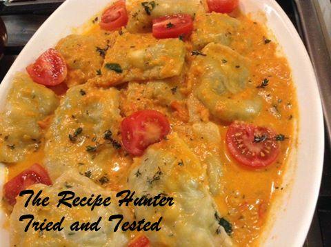 TRH Gail's Homemade Spinach & Ricotta Ravioli