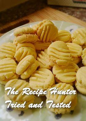 TRH Irene's Lemon Cream Biscuits (eggless)