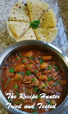 TRH Irene's Sugar Beans & Dry Fish (Snoek) Curry