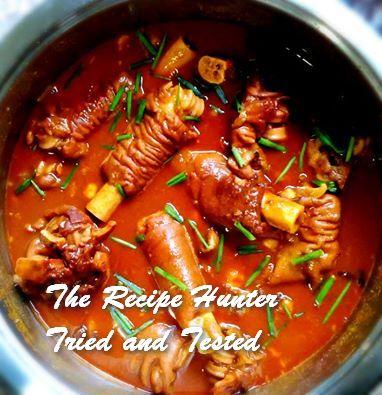 TRH Irene's Trotters with Samp & Beans