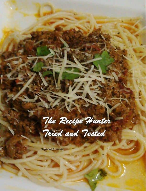 TRH Melanie's Slow-Cooked Bolognese Sauce