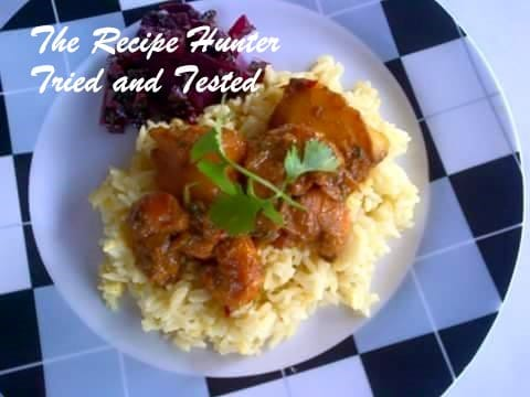TRH Nazley's Kitchree with Prawn & Mango curry