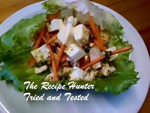 TRH Nazley's Spicey Chicken Salad Boats