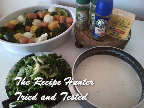 TRH Nazley's Yum yum Vegetable bake