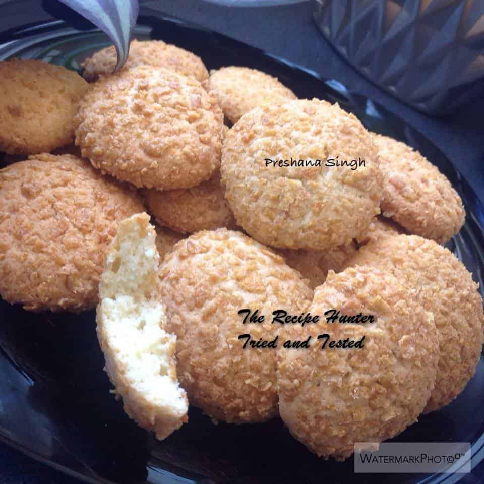 TRH Preshana's Crunchy nut cookies