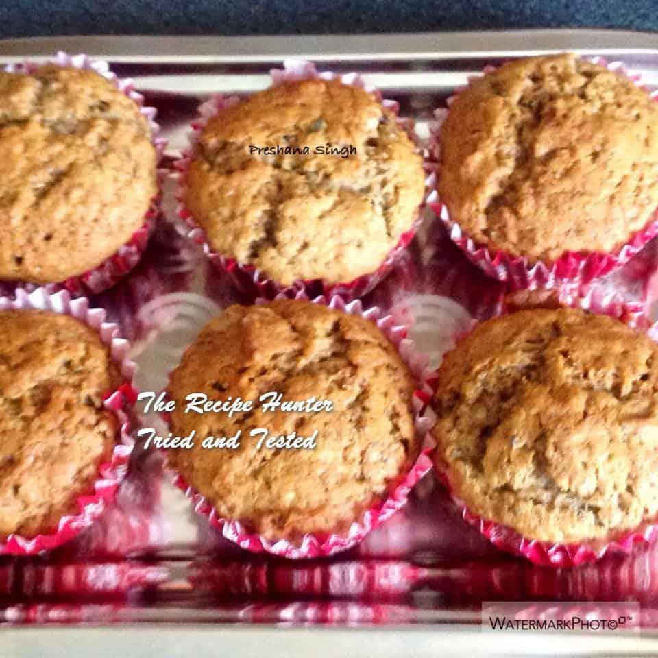 TRH Preshana's Date Paste and Banana muffins1