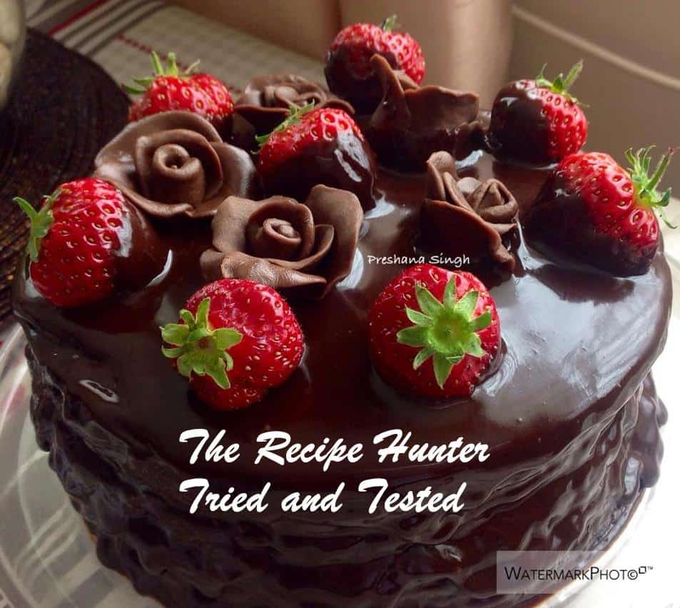TRH Preshana's Easy chocolate cake1
