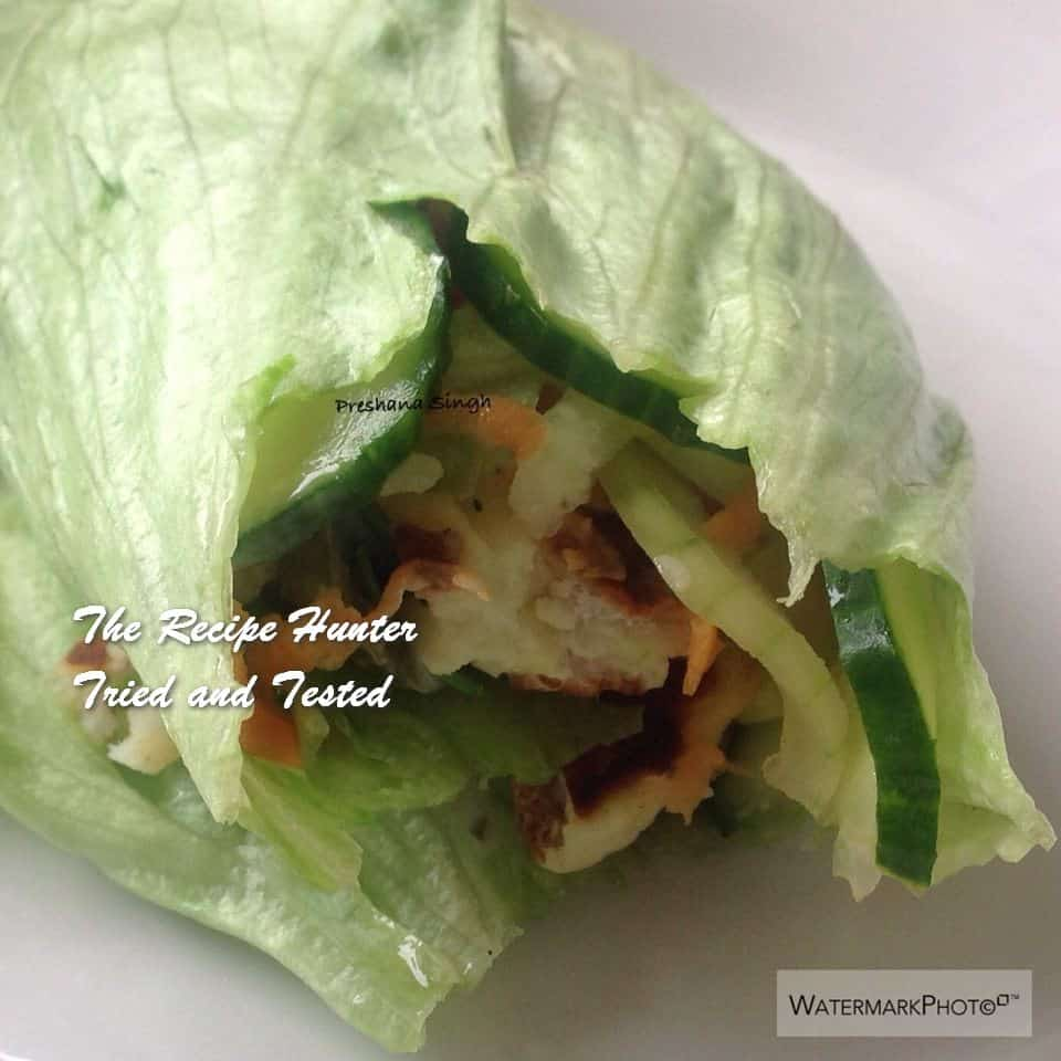TRH Preshana's Halloumi salad bowl or a Halloumi salad roll up2