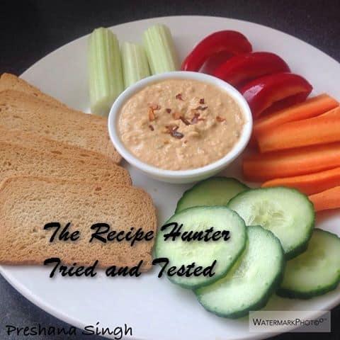 Preshana's Quick hummus