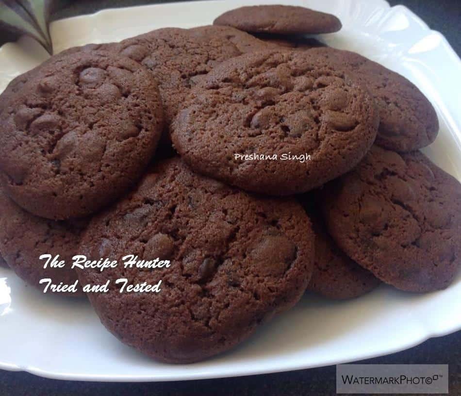 TRH Preshana's Triple Chocolate Cookies