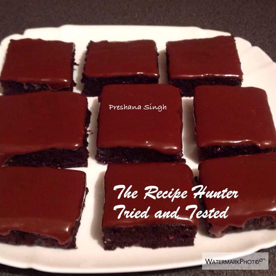 TRH Preshana's Zucchini Brownies
