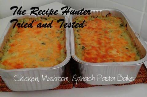 TRH Priscilla's Chicken Mushroom Spinach Pasta Bake.jpg