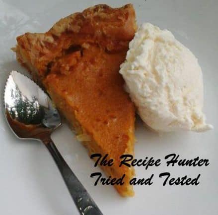 TRH Priscilla's Pumpkin Pie