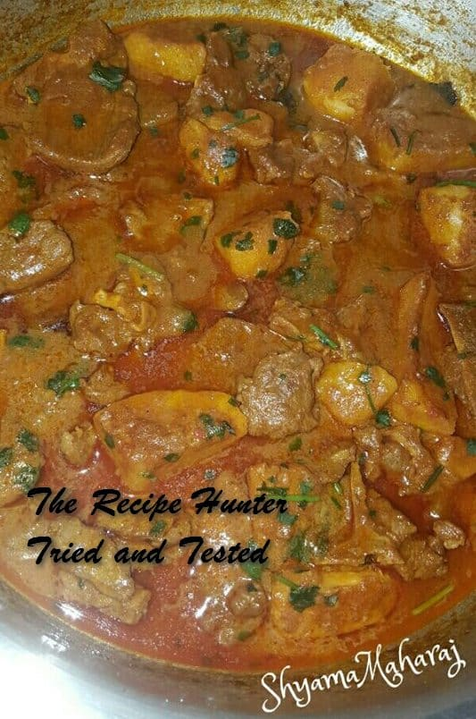 TRH Shyama's Delicious and Tasty lamb curry with potatoes