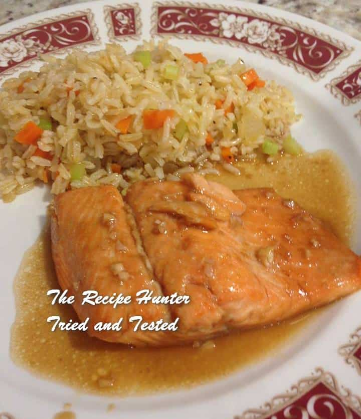 TRH Valerie's Steelhead Trout Baked With Honey Or Maple Glaze