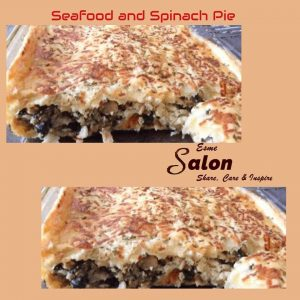 SEAFOOD AND SPINACH PIE