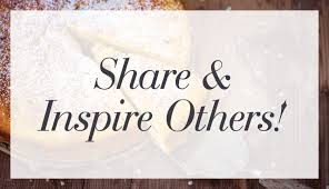 Share and Inspire Others!