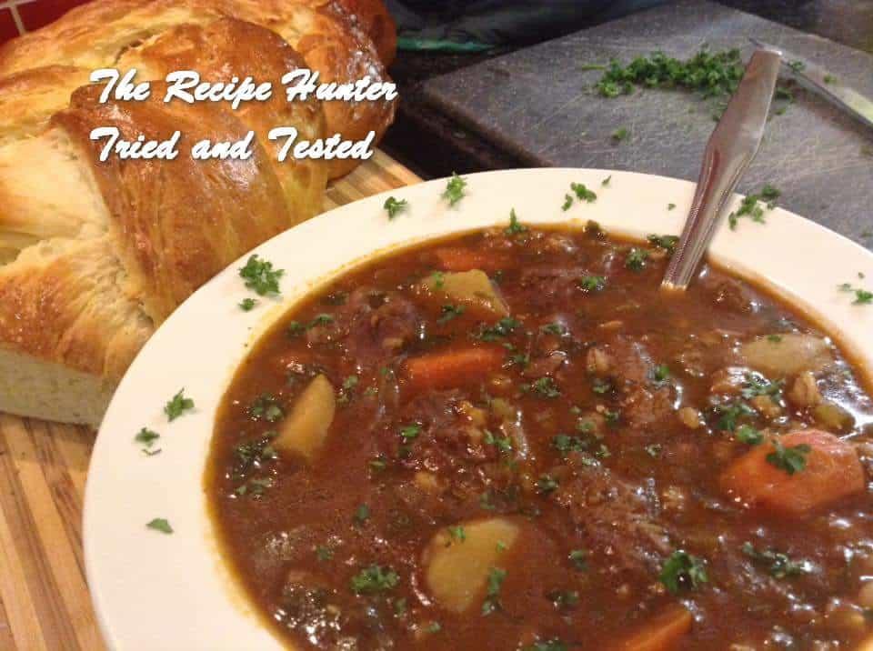 TRH Gail's Barley Soup in Slow Cooker