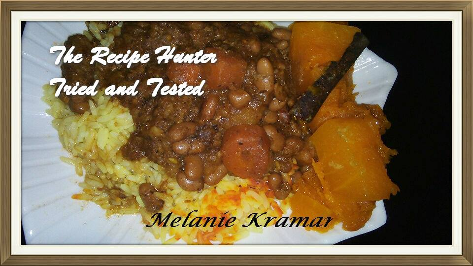 Melanie's Moroccan Flavoured Beef Stew with Sugar Beans