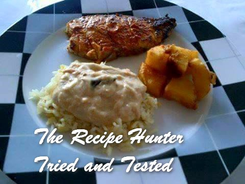 TRH Nazley's  Khirie Kitcherie, Aloo fry and Masala Fish