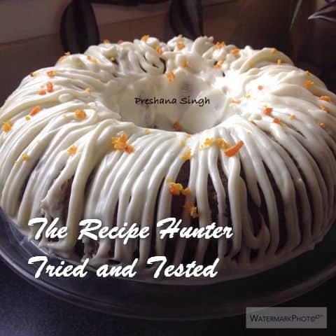 TRH Preshana's Carrot cake
