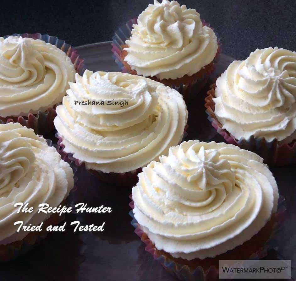 TRH Preshana's Fairy cakes with strawberry jam and fresh cream