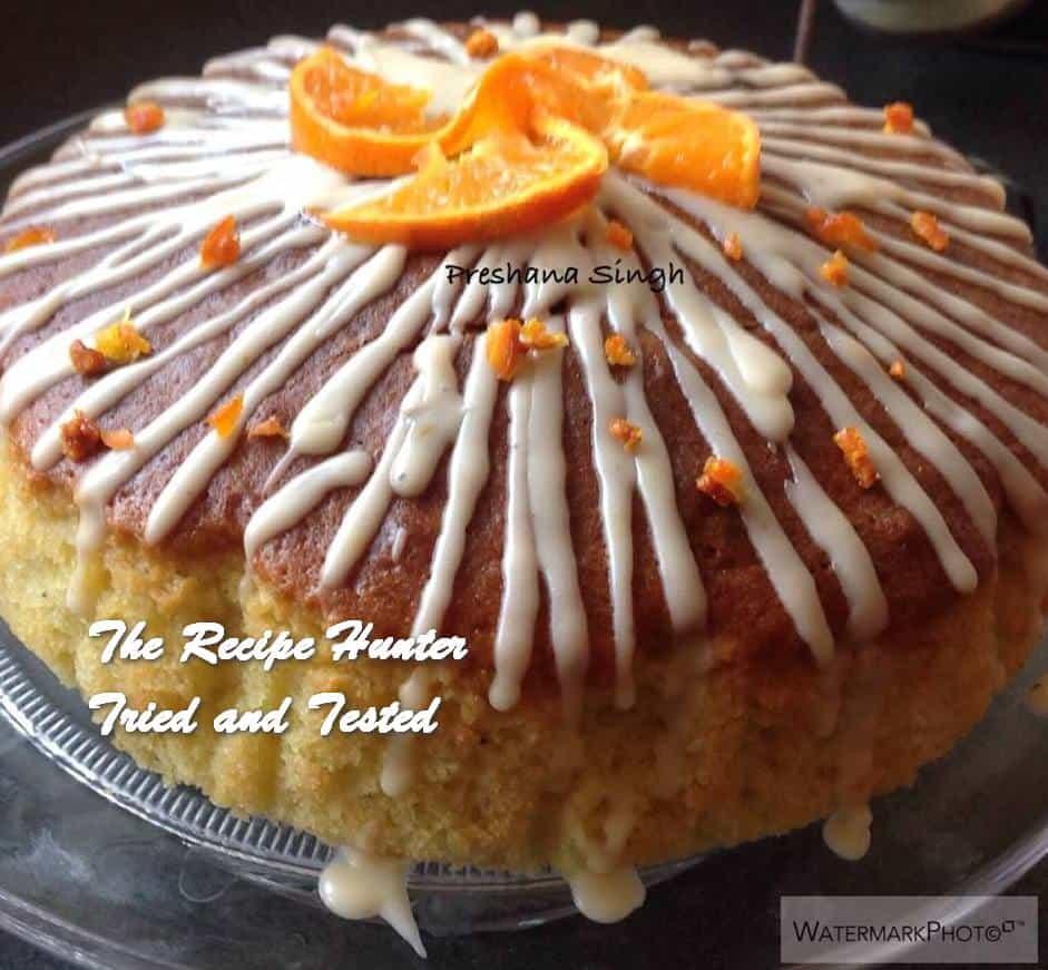 TRH Preshana's Satsuma and Cardamom Cake