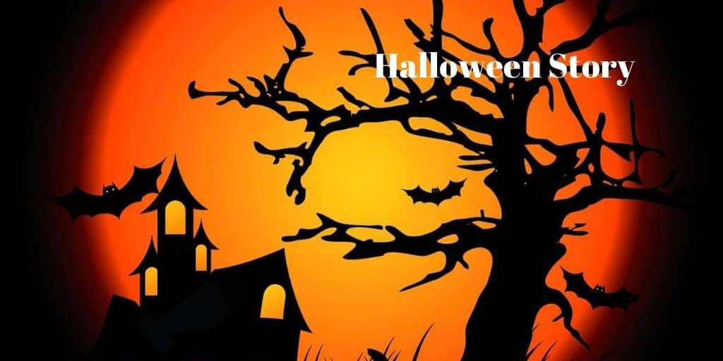 Halloween on cemetery lane