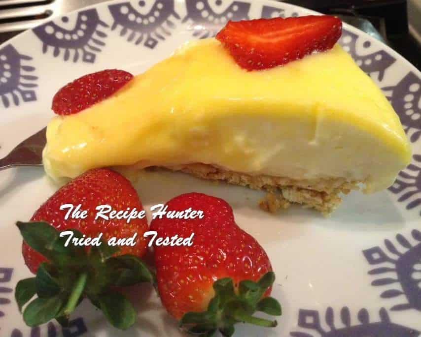 Gail's Lemon Fridge Cheesecake