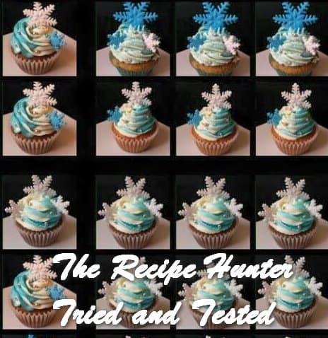 Reshika's Frozen cupcake