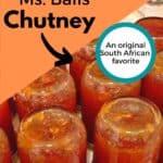 Ms. Balls Chutney
