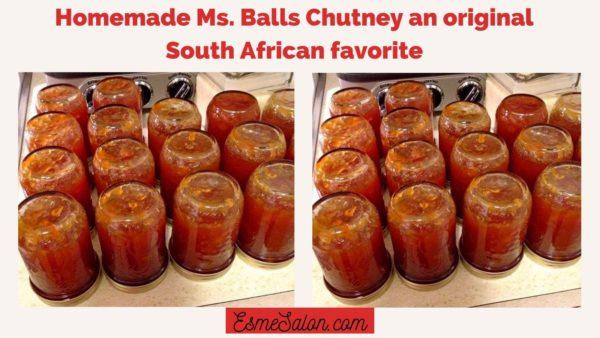 Ms Balls Chutney