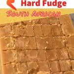 A Homemade SA Fudge treat