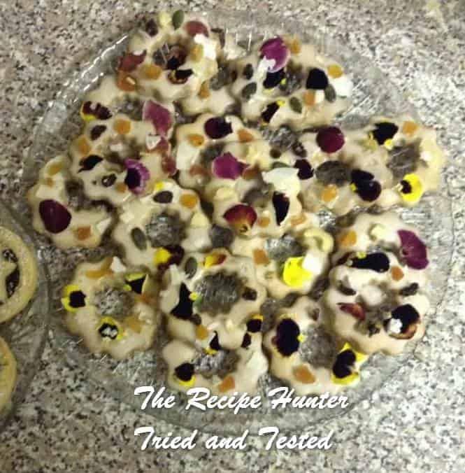 Gail's Christmas Lavender Shortbread