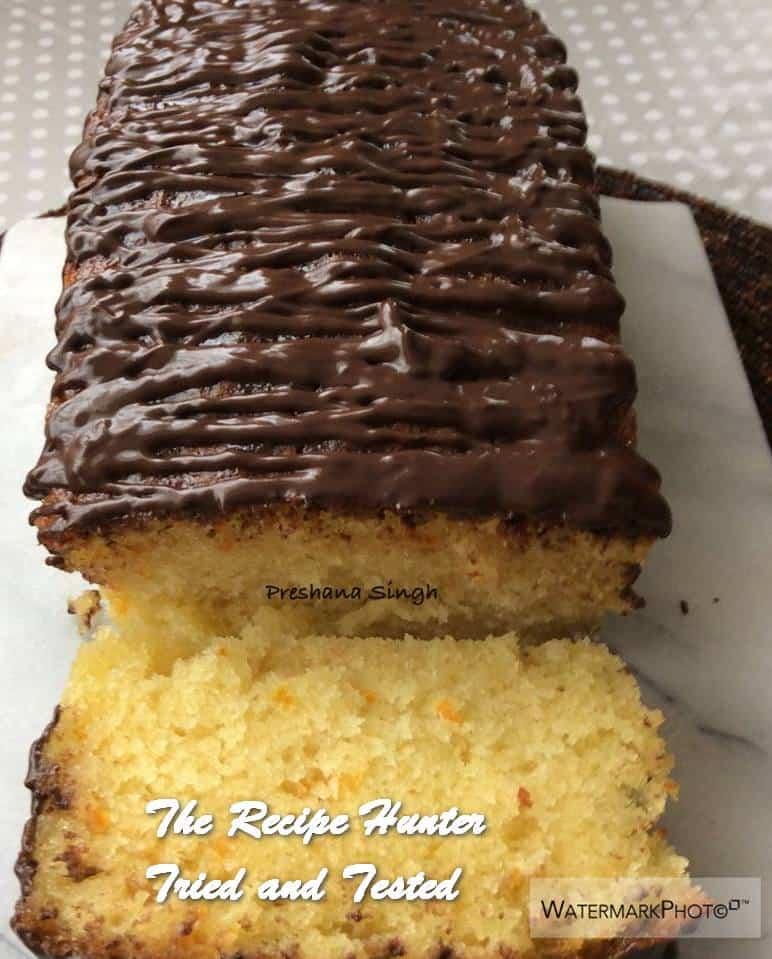Preshana's Jaffa Drizzle Loaf (Orange Drizzle Cake)