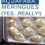 Aquafaba Vegan Meringues