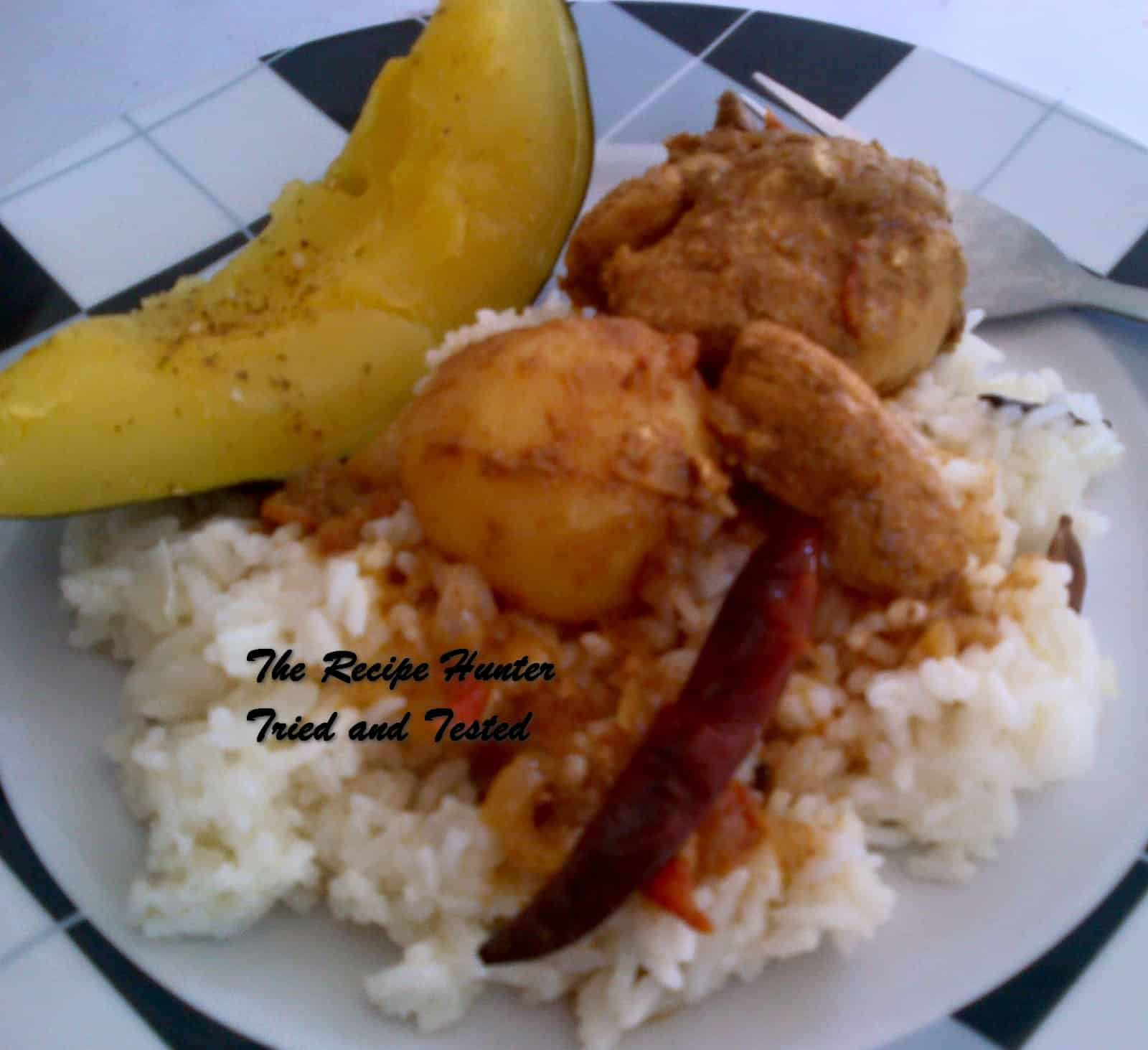 Nazley's Chicken Curry