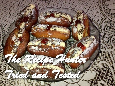 Thilleshni's Mini Fresh Cream donuts