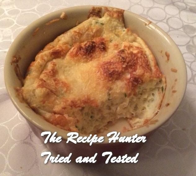 Es's Smoked Tuna Soufflés With Parmesan Crust