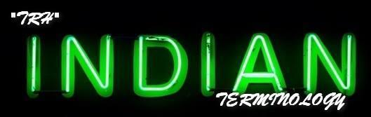 """TRH"" Indian Food Terminology"