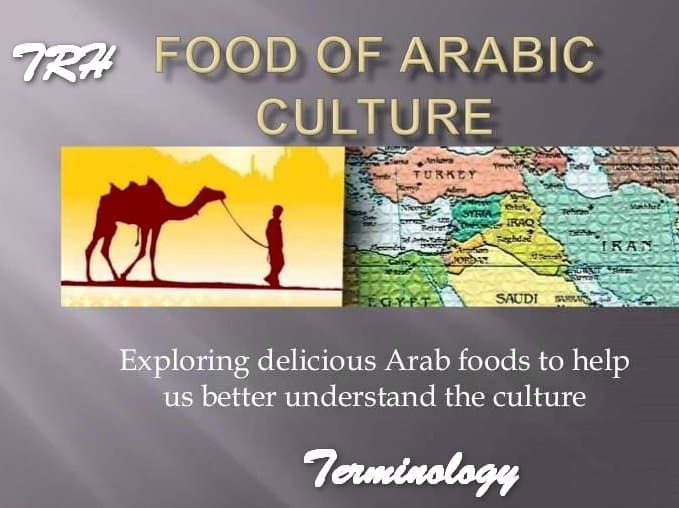 Nazley's Arabic Fruit and Vegetable Terminology List
