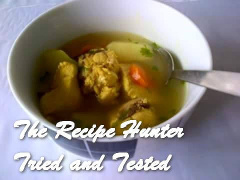 Nazley's Chicken Broth Soup