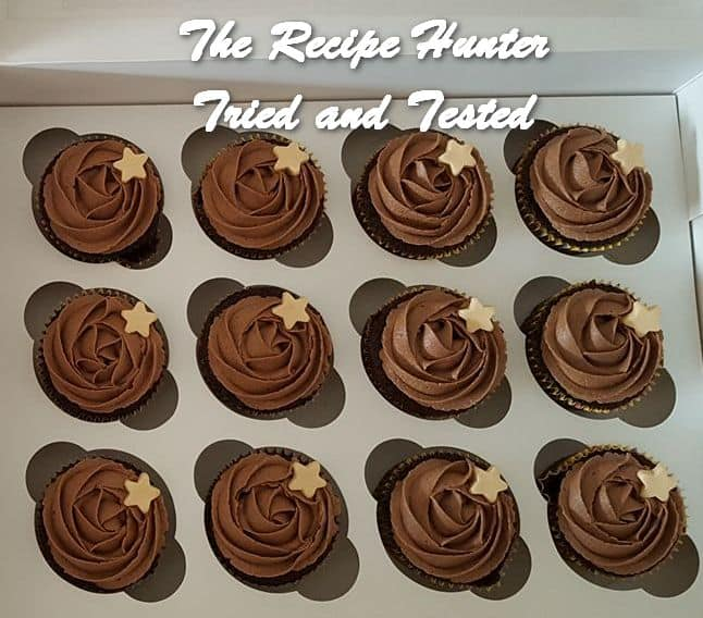 Vashnee's Moist chocolate cupcakes with chocolate buttercream