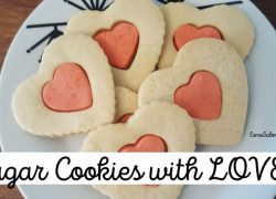 Sugar Cookies with LOVE for your Valentine