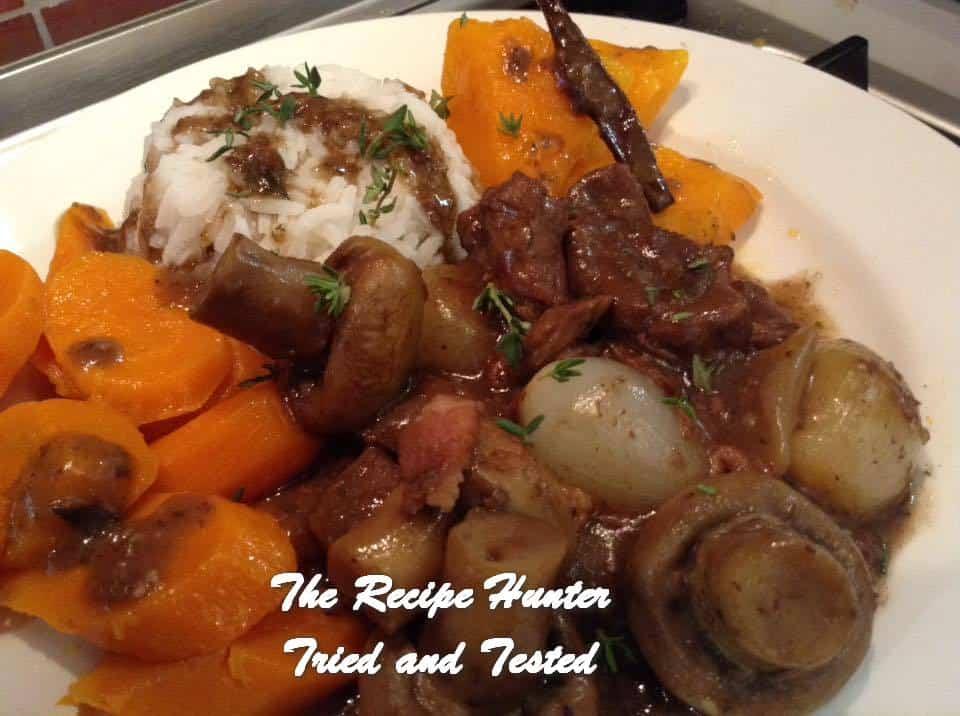 Gail's Beef Bourguignon (Stew)