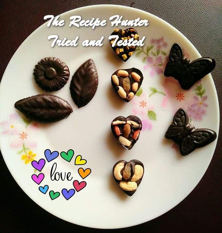 Moumita's Sweetheart Dark Chocolates