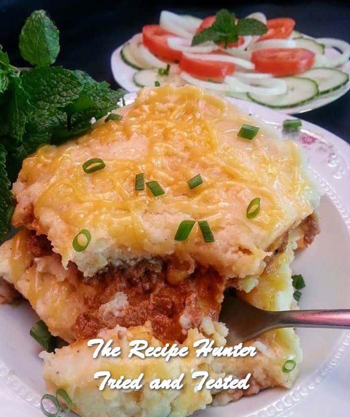 Rashida's Quick and Easy Potato Pie