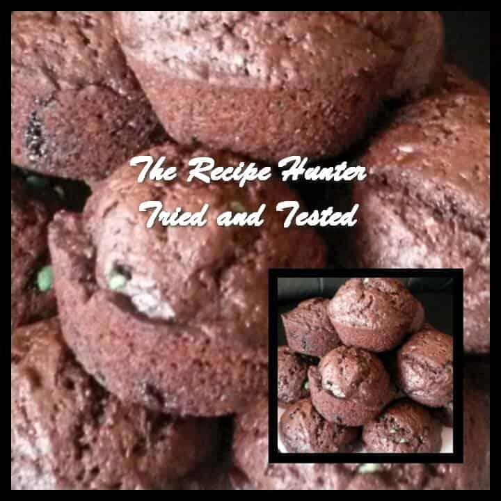 Reshika's Chocolate Mint Muffins